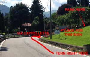 2. Signpost for La Brea