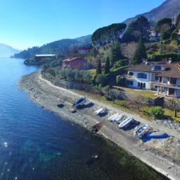 Villa Fronte Lago Pianello Lario Lago Como Rif.C016 -1