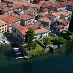Villa EVIDENZIATA Mandello del Lario Lago Como Rif.LC131-1 foto dal lago -1 (1)_rid