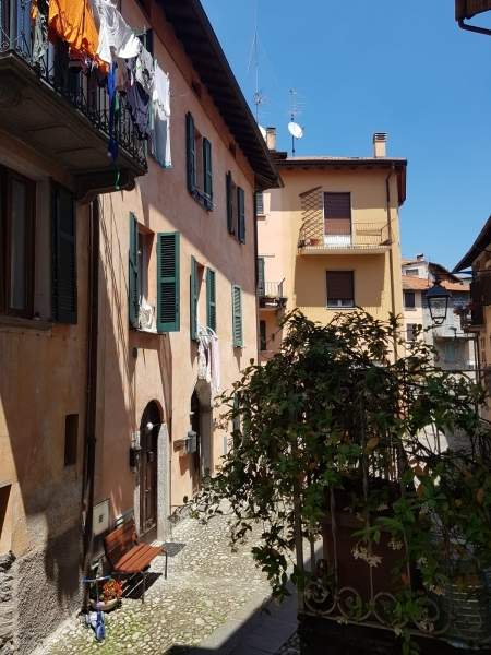 the quaint streets of Colonno
