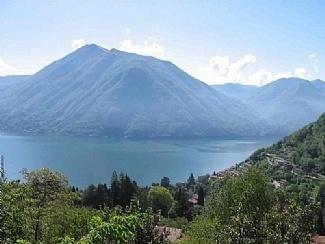 The stunning lake view