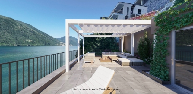 pergola on roof terrace
