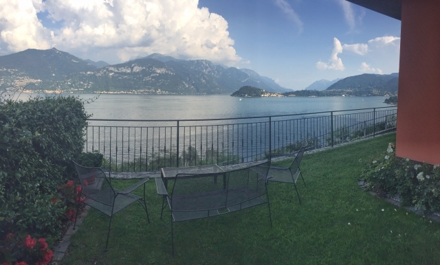 stunning views of Bellagio