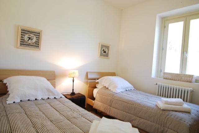 light-filled twin bedroom apts 2 &3
