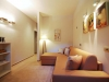 ground floor TV lounge with double sofa bed