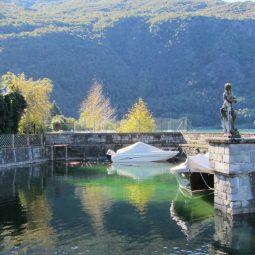 Villa Indipendente Fronte lago Colico Lago Como Rif. LC017.--11